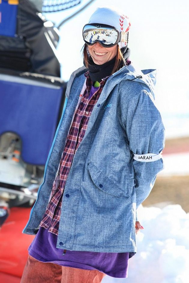 České barvy v Belgii hájila také Klára Suchanová, která dlouhodobě patří mezi špičkové snowboardové rozhodčí