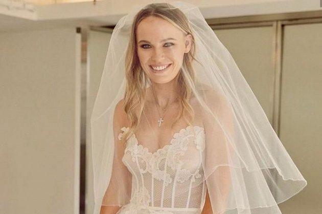 Caroline Wozniacká se vdala