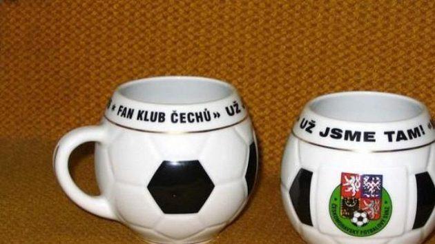Fotbalový hrnek pro MS ve fotbale.