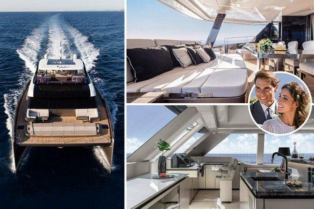 Rafael Nadal si se svou manželkou mohou užívat zaslouženého luxusu