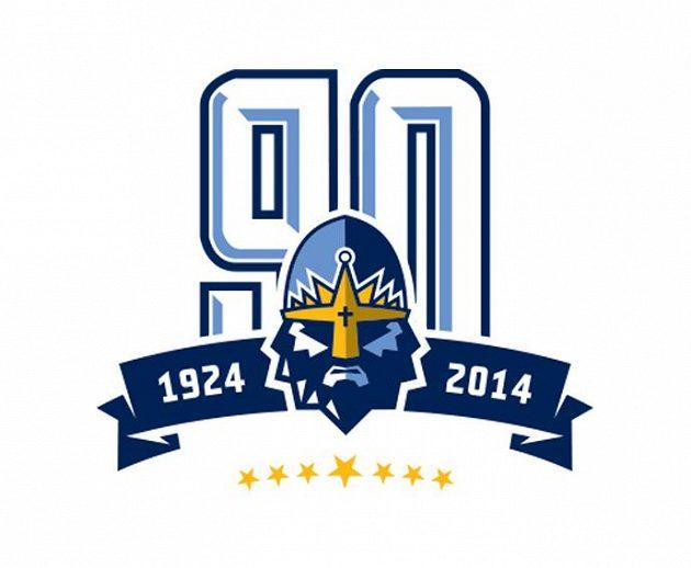 Speciální kladenské logo připomíná devadesátileté výročí od založení klubu.