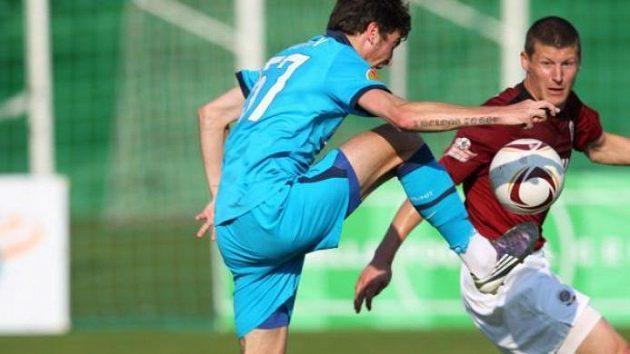 Také Manuel Pamič omluvený ze srazu chorvatské reprezentace si v dresu Sparty proti Zenitu Petrohrad zahrál.