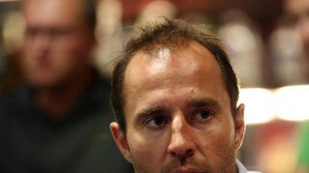 Martin Ručinský při charitativním pokerovém turnaji.