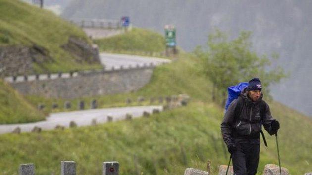 Jan Škrabálek při závodu Red Bull X-Alps ušel po svých celkem 478 km, ve vzduchu nalétal 181 km.