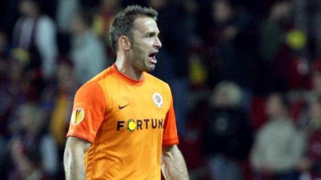 Gólman fotbalistů Sparty Jaromír Blažek po zápase proti Eindhovenu