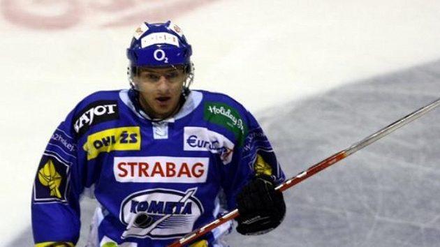 Brněnský hokejista Roman Erat