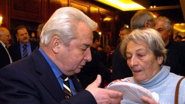 Legendární olympionici Dana Zátopková a Jiří Raška