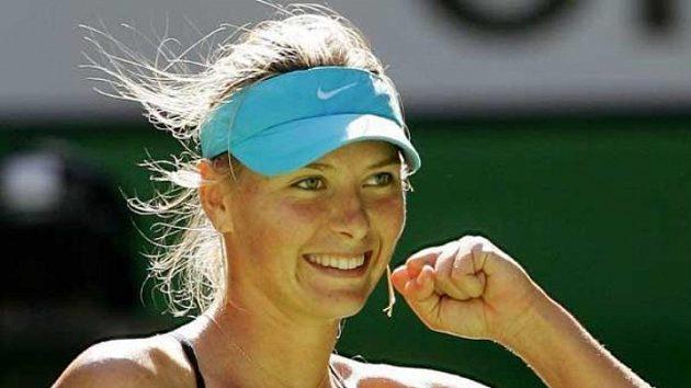 Maria Šarapovová na Australian Open 2006.