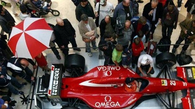 Formule 1 v pražských Arkádách