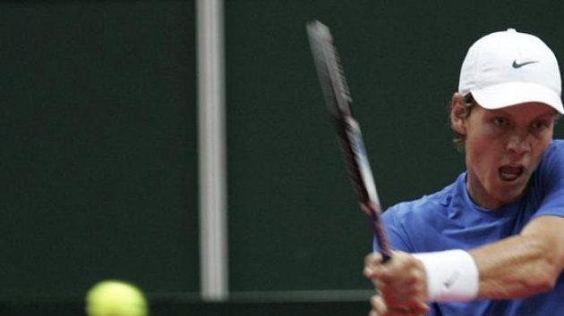 Tomáš Berdych ve čtvrtfinále Davisova poháru