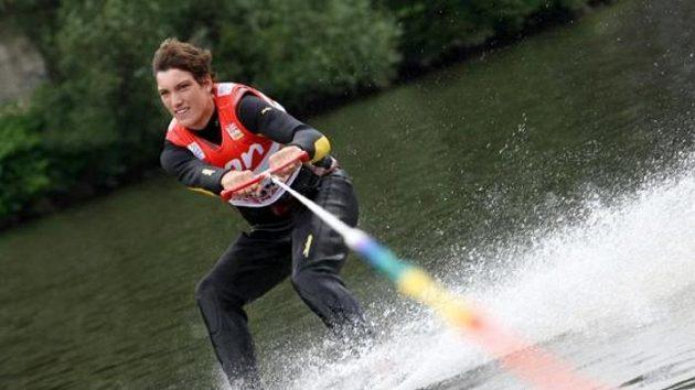Tenista Jan Kunčík lyžoval na vodě