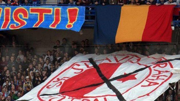 Fanoušci fotbalové Sparty Praha