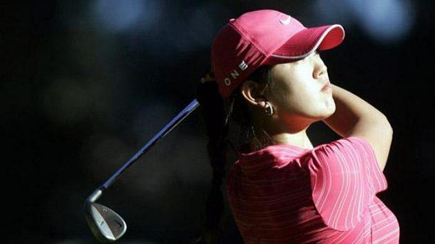 Americká golfistka Michelle Wieová