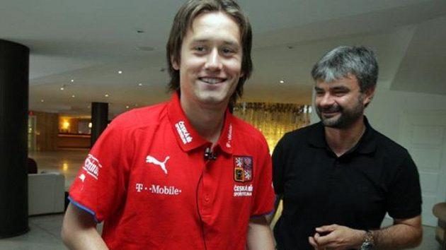 Tomáš Rosický na srazu české fotbalové reprezentace před kvalifikačním utkáním se Slovenskem.