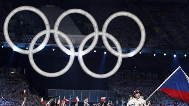 Česká výprava na zahájení olympijských her