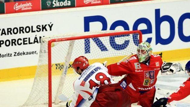 Šance ruského hokejisty Varnakova