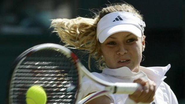 Ruská tenistka Maria Kirilenková ve Wimbledonu