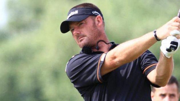 Český golfista s německým pasem Alex Čejka