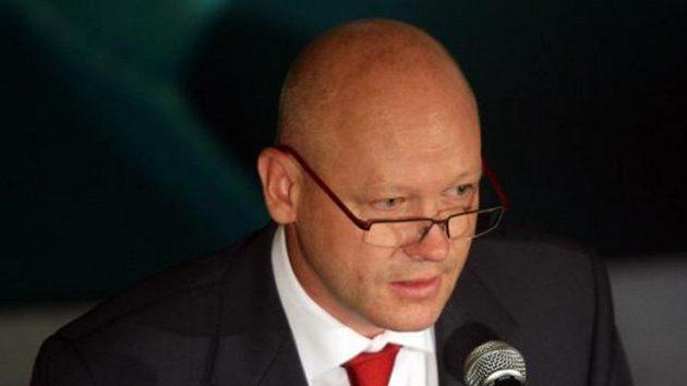 Ivan Hašek na volební valné hromadě ČMFS
