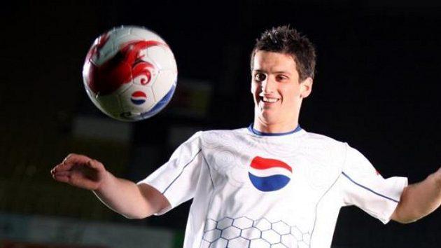 Martin Fenin při natáčení reklamy Pepsi