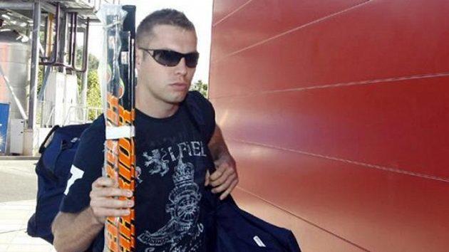 Útočník Josef Vašíček na srazu české hokejové reprezentace