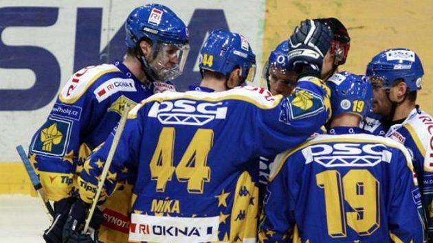 Radost hokejistů Zlína