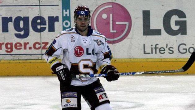 Obránce hokejové Sparty Stanislav Hudec