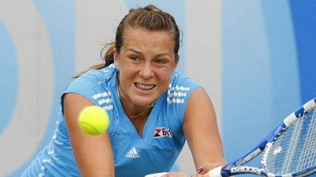 Ruská tenistka Anastasia Pavljučenkovová