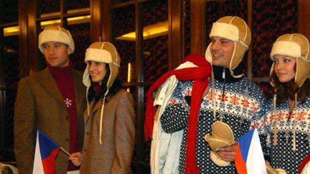 Oblečení české výpravy na ZOH v Turíně
