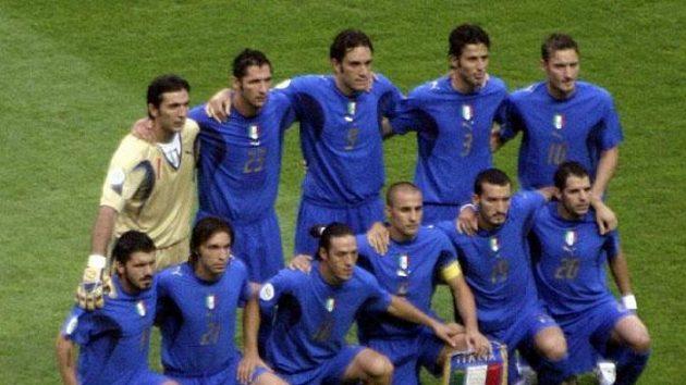Fotbalisté Itálie před finálem MS