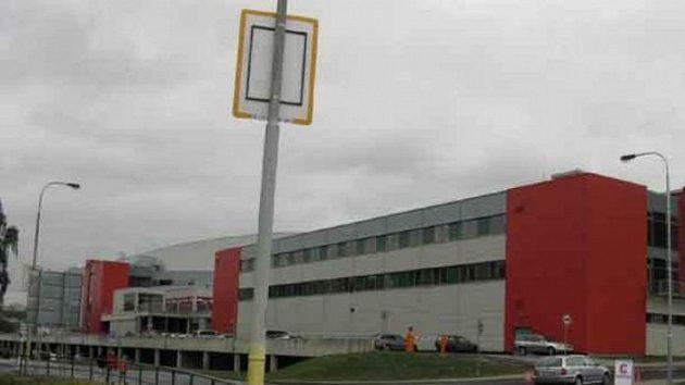 KV Aréna v Karlových Varech - pohled z druhé strany od tréninkové haly
