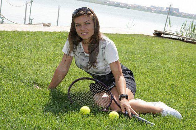 Simona Halepová už se zmenšeným hrudníkem. Momentálně se dere do elitní dvacítky žebříčku WTA.
