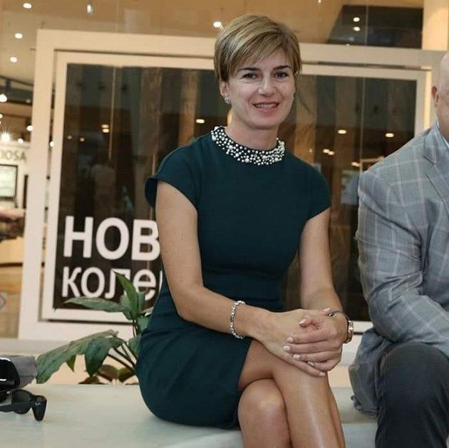 Prezidentka Bulharské biatlonové federace a bývalá závodnice Jekatěrina Dafovská.