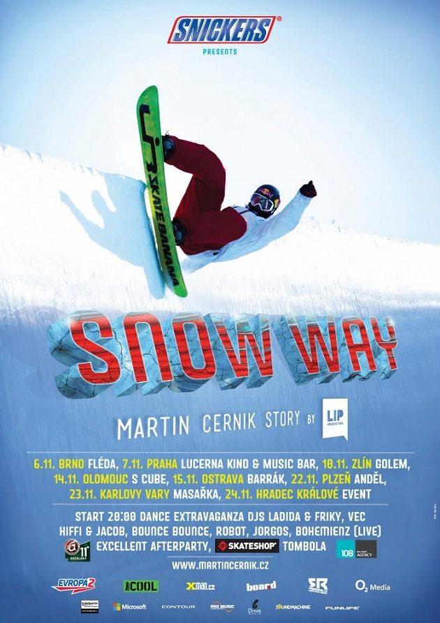 Snow way vizuál