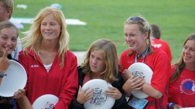 Juniorky do 20 let prokázaly na turnaji velké zlepšení a zároveň získaly cenu Spirit of the Game.