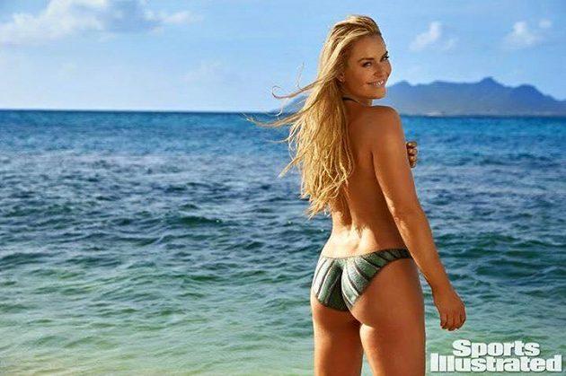 Lindsey Vonnová fotila pro Sports Illustrated.