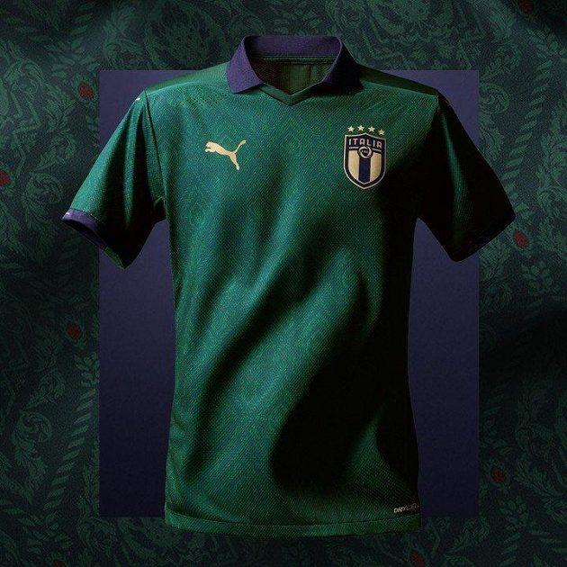 Jak se vám líbí? Nový italský dres je zelený...