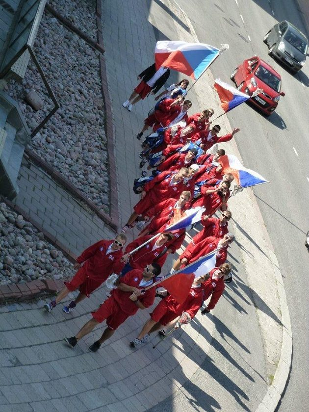 Český tým na MS U-19 ve fieldlakrosu 2012