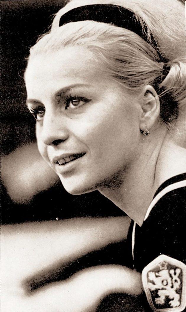 Gymnastka Věra Čáslavská