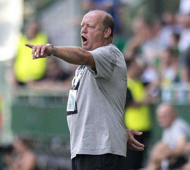 Olomoucký trenér Leoš Kalvoda.