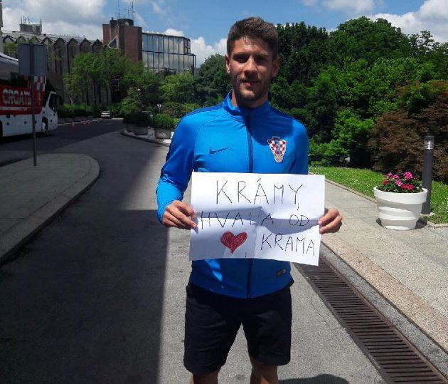 Andrej Kramarič oceňuje, že má fanoušky až na Příbramsku.