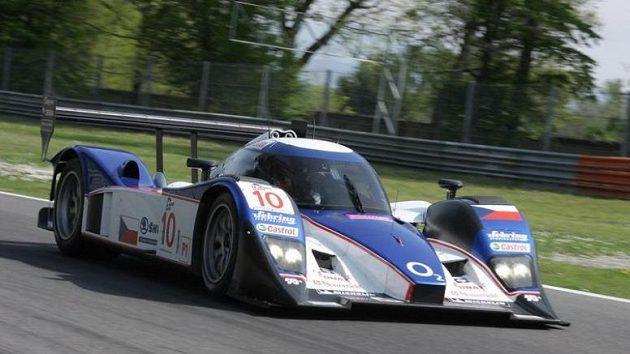 Posádka Jan Charouz, Stefan Mücke vybojovala s vozem Lola Aston Martin osmé místo v závodu 1000 kilometrů Monzy.