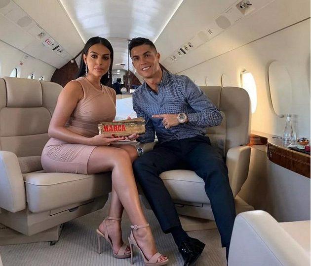 Cristiano Ronaldo a jeho luxusní tryskáč