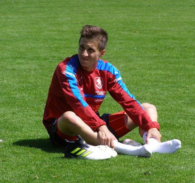 Ve středu absolvoval první trénink s reprezentační jednadvacítkou na soustředění v Zell am See i Michal Sáček, jenž první část soustředění vynechal kvůli povinnostem u elitního národního výběru.