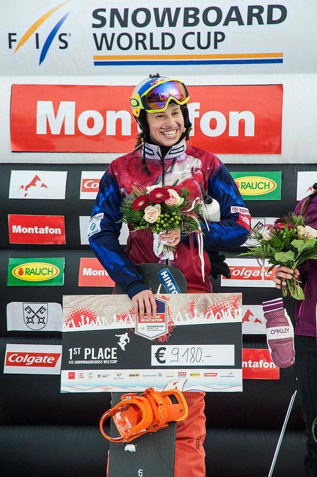Snowboardkrosařka Eva Samková.