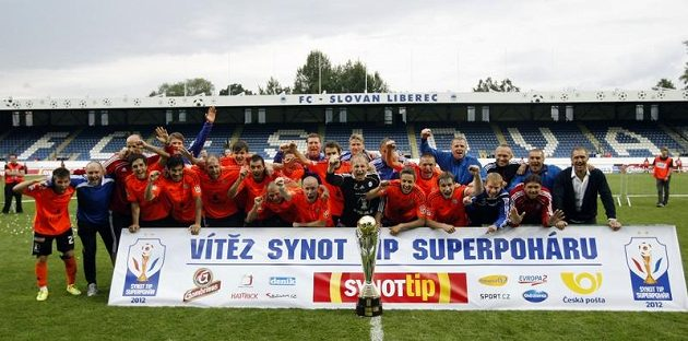 Vítěz Superpoháru 2012 - fotbalisté Sigmy Olomouc