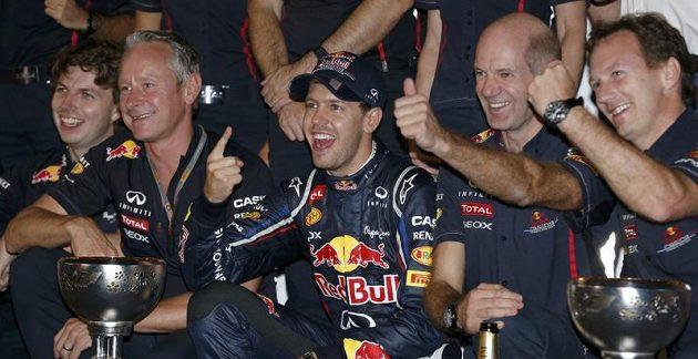 Tým Red Bullu měl v Japonsku žně.
