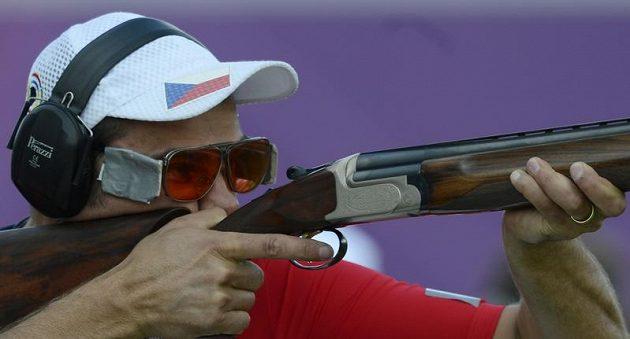 David Kostelecký cílí v kvalifikaci trapu na olympiádě v Londýně.