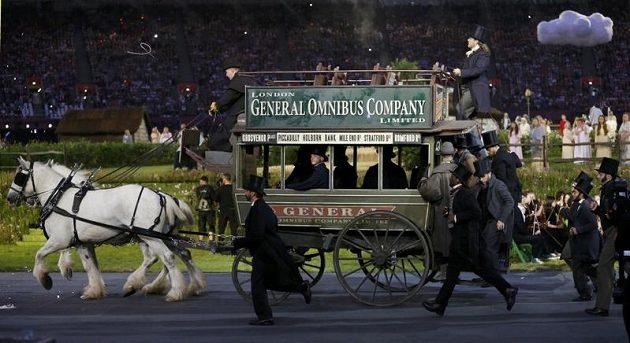 Zahajovací ceremoniál v Londýně