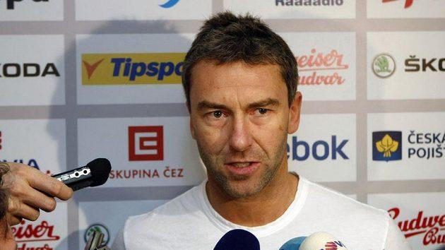 Petr Nedvěd na srazu hokejové reprezentace